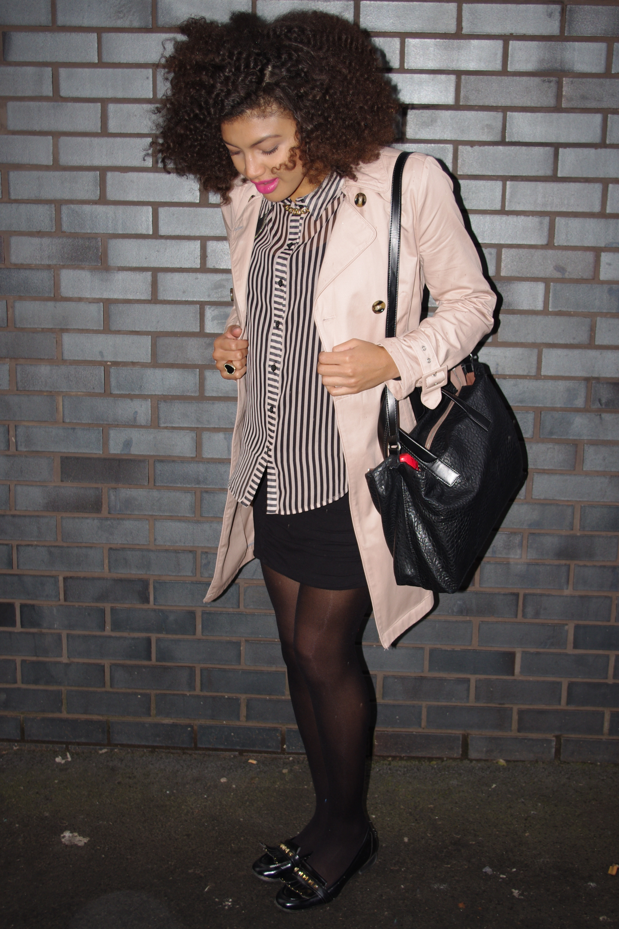 Samio Topshop Trench Coat 1