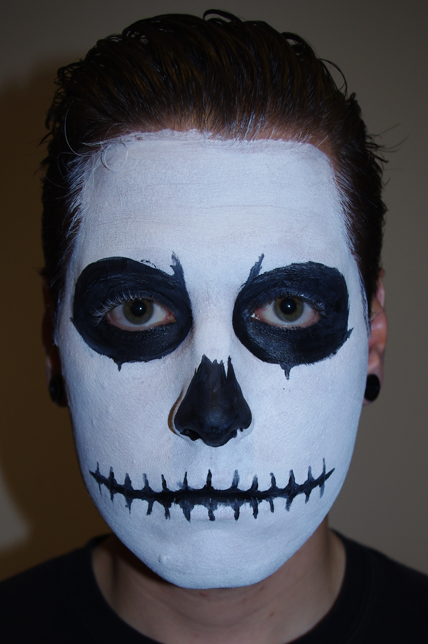 Cool Face Paint For Halloween Guys