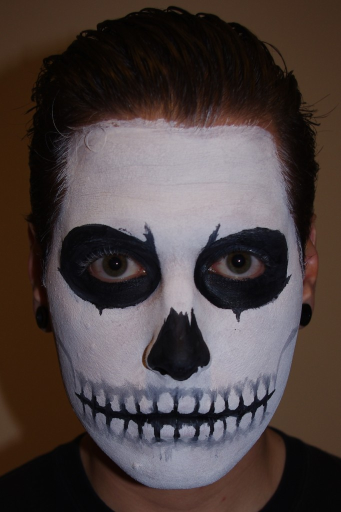 Black And White Face Paint Makeup