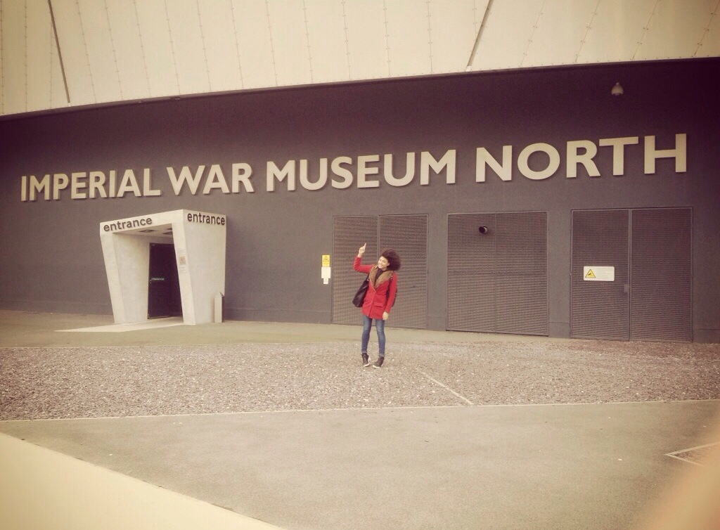Samio at the Imperial War Museum Manchester