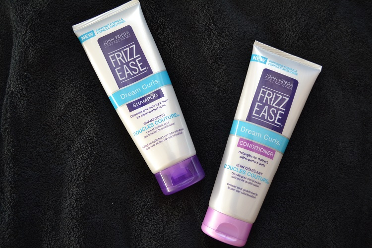 Frizz Ease Dream Curls by John Frieda blog review