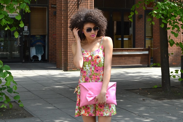Samio Forever 21 Contemporary Floral playsuit