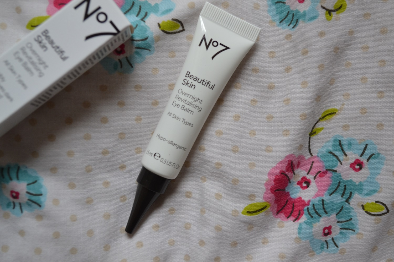 No7 Beautiful Skin Overnight Revitalising Eye Balm