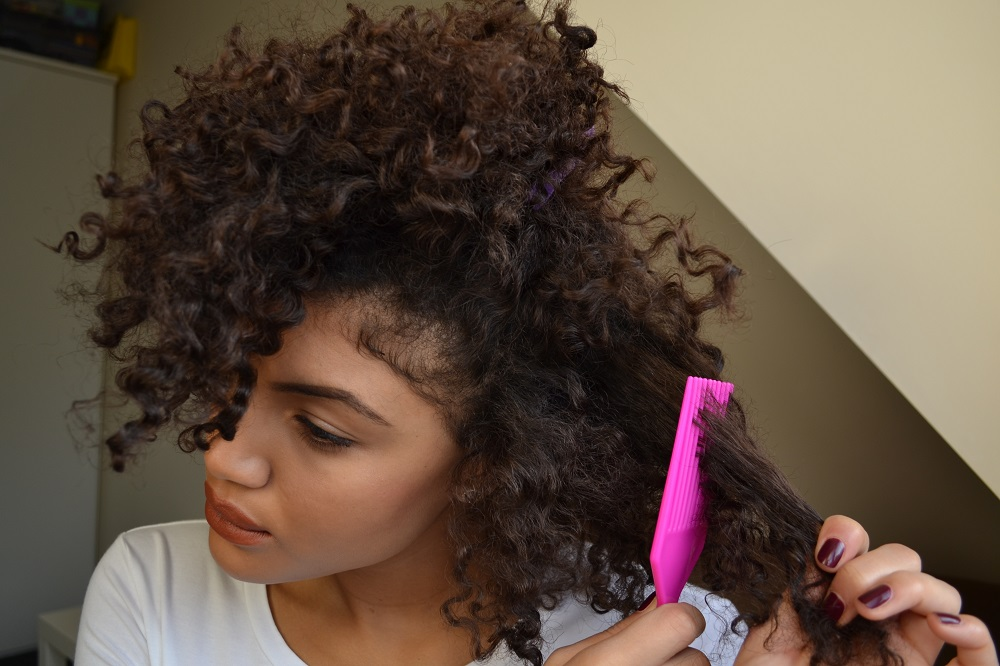 How to add volume to curly hair