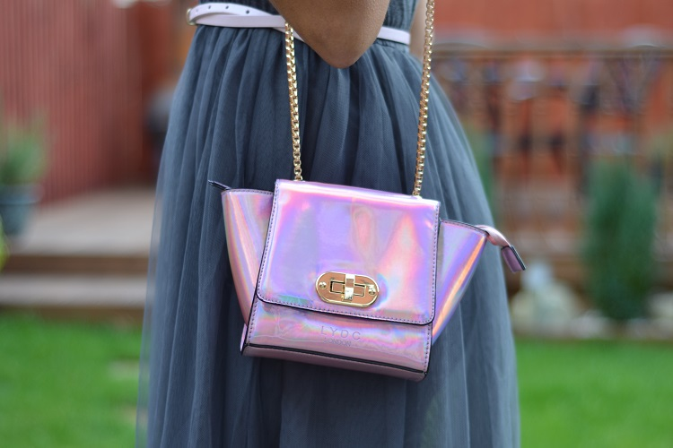 The Argill Holographic Shoulder Bag by LYDC