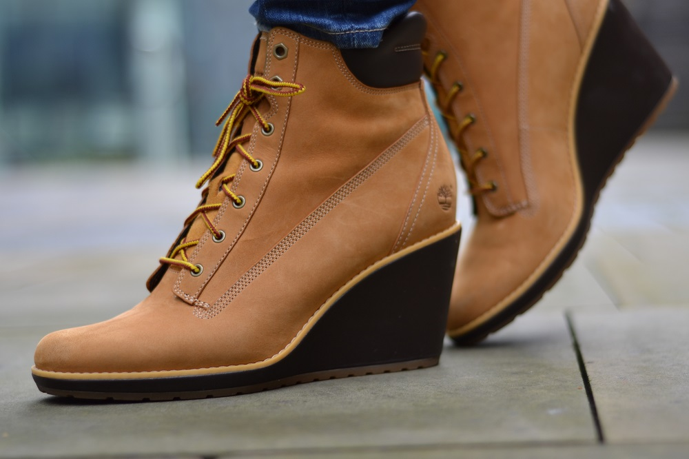 womens timberland wedge boots bye bye laundry