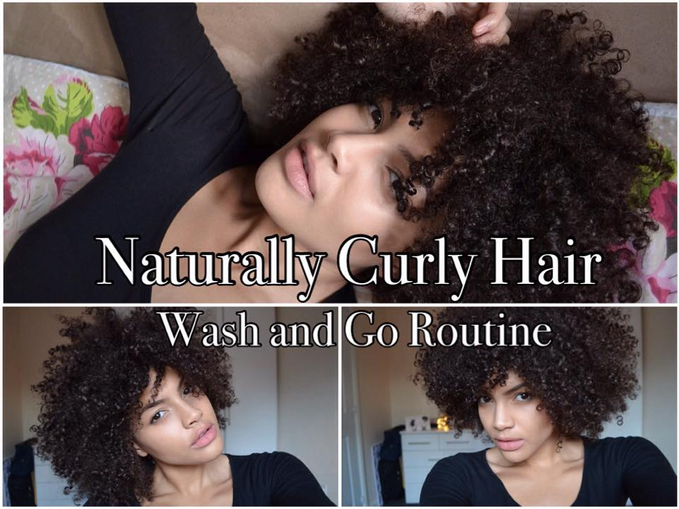 Naturally Curly Hair – Wash and Go Routine