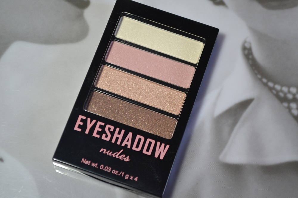 H&M nude eyeshadow review