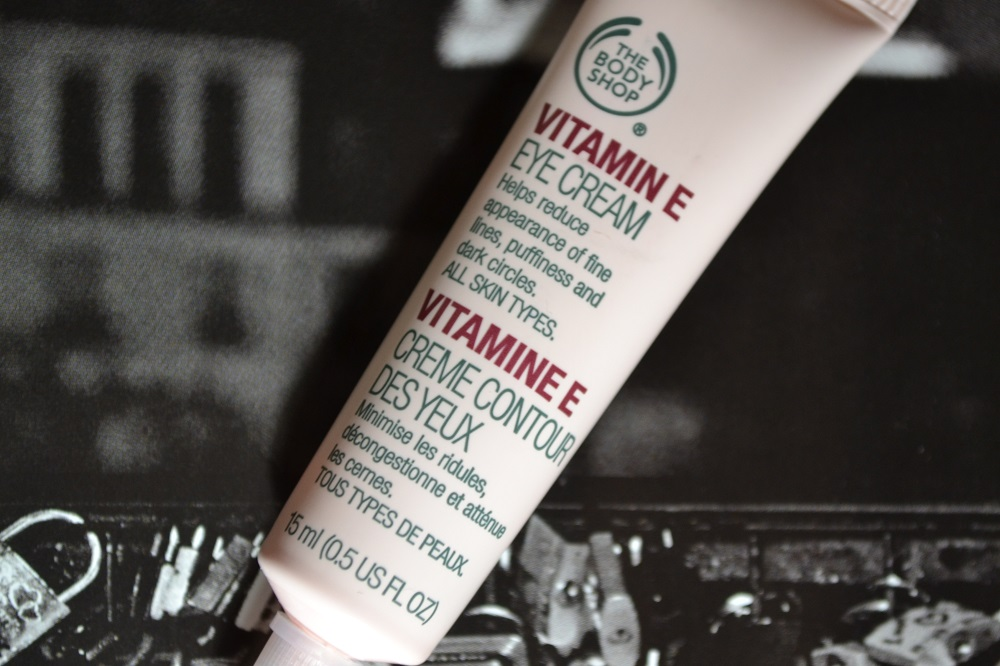 The Body Shop Vitamin E Eye Cream Review Samio