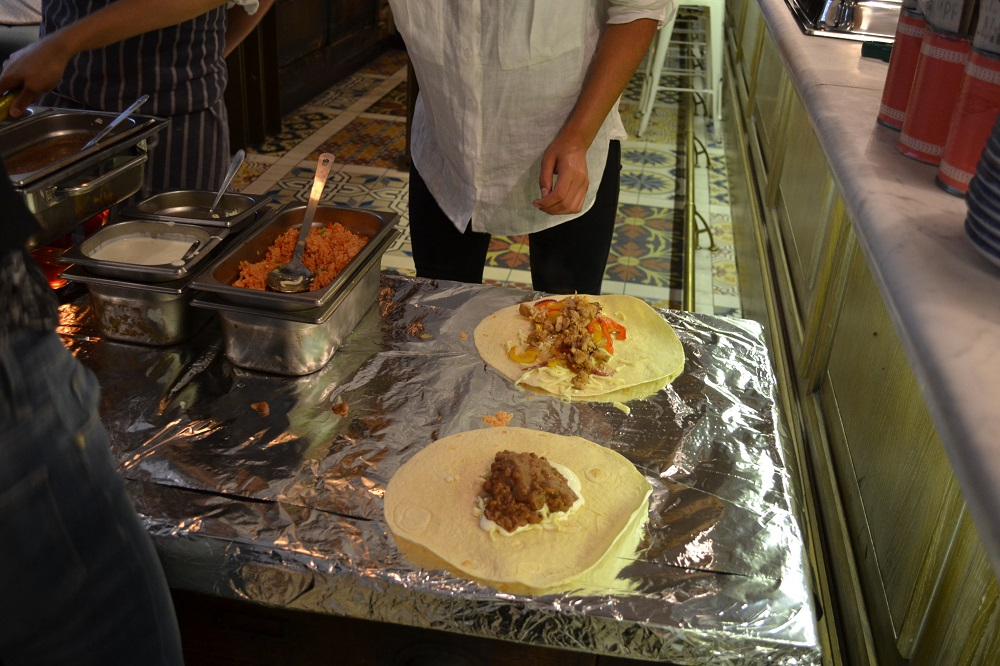 Burrito making Manchester