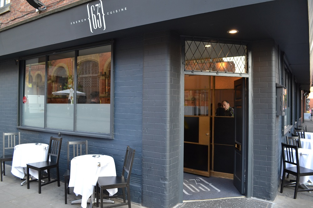 63 Degrees French Cuisine NQ Manchester Restaurant
