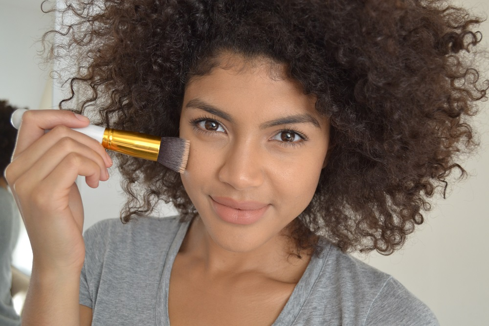 Foundation for mixed race, tanned, olive skin