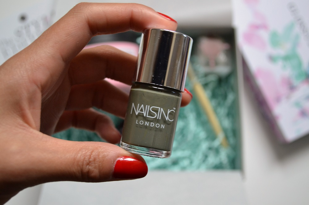 Nails Inc Nail polish shade Battersea Park