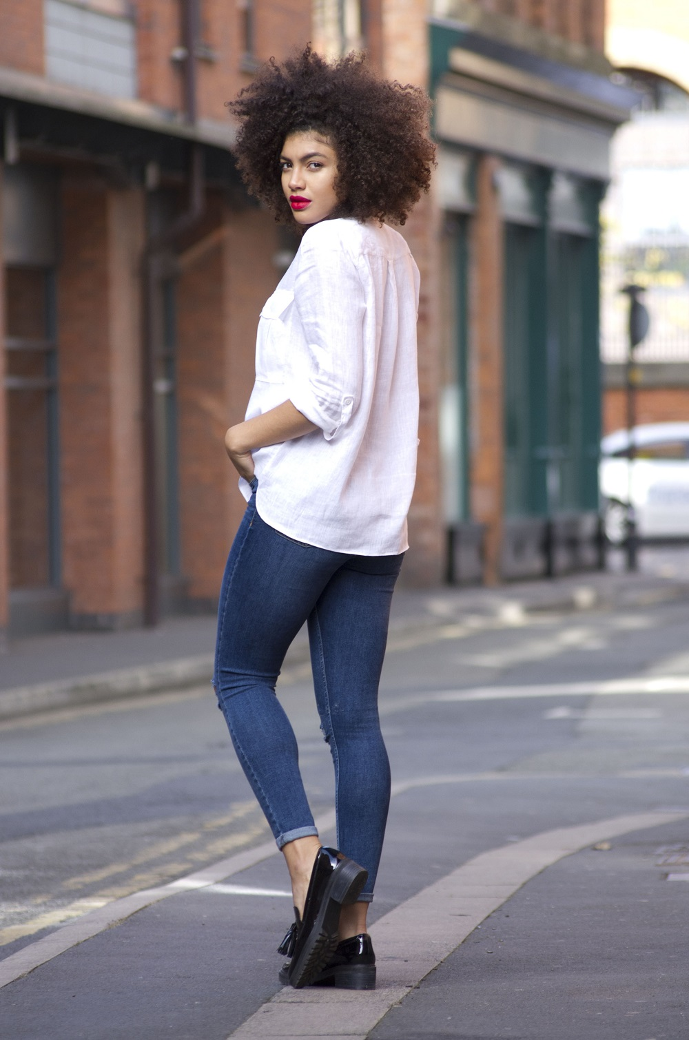 Manchester street style outfit blogger