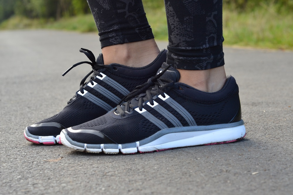 Womens adidas adipure running shoes trainers