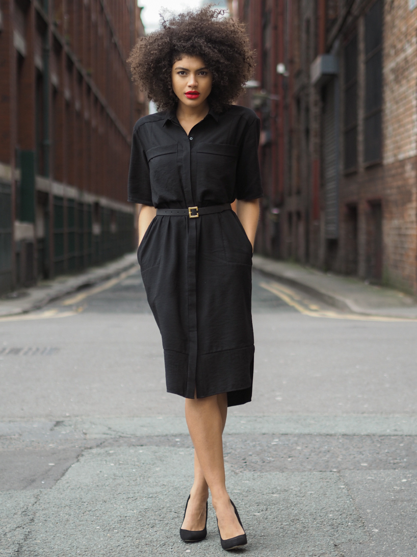 Whistles Longline Shirt Dress Samio