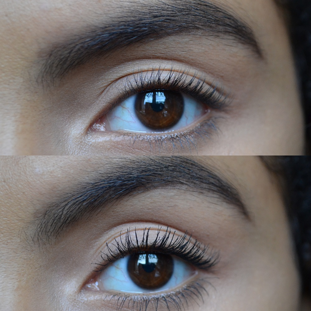 W3LL PEOPLE Mascara Before and After - Samio