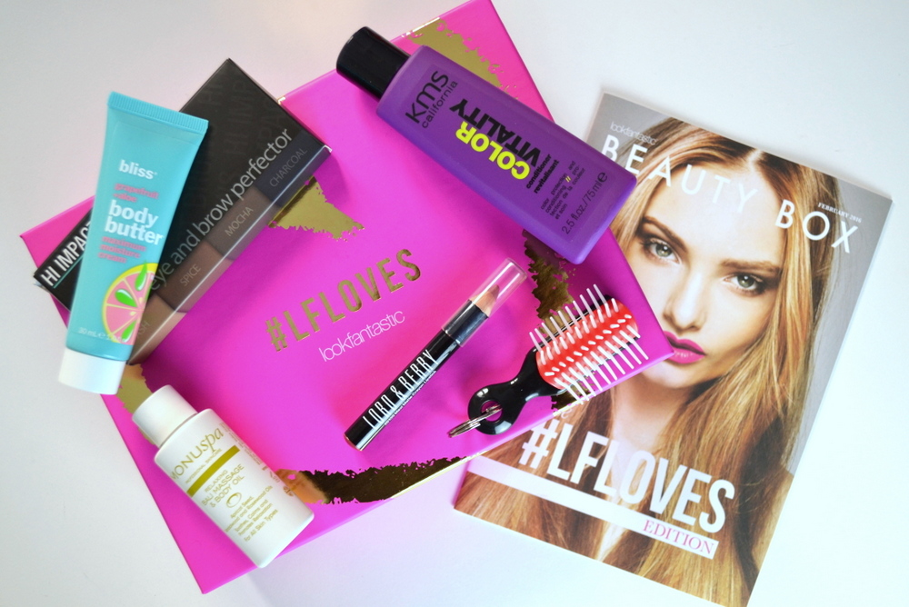 LookFantastic #LFLOVES Edition Beauty Box