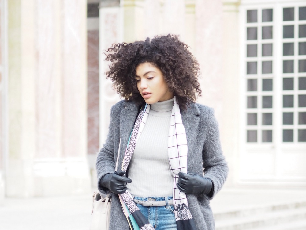 Grey Roll neck outfit