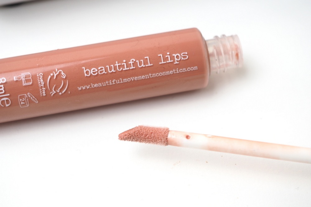 Beautiful Movements Nude Lipgloss Review