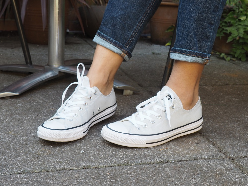 Converse Chuck Taylor Mouse Grey Ox Trainers
