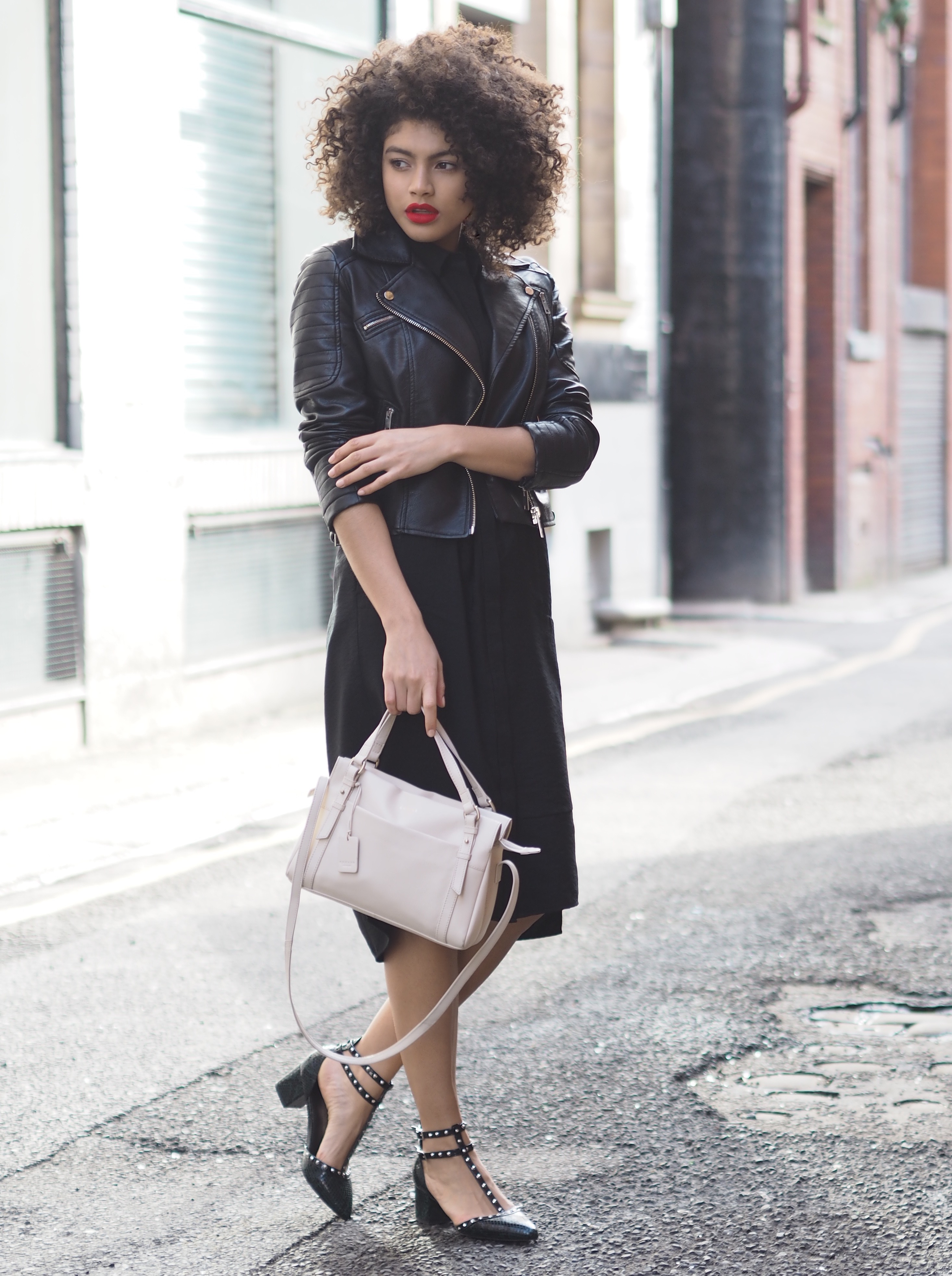 Radley London bag outfit