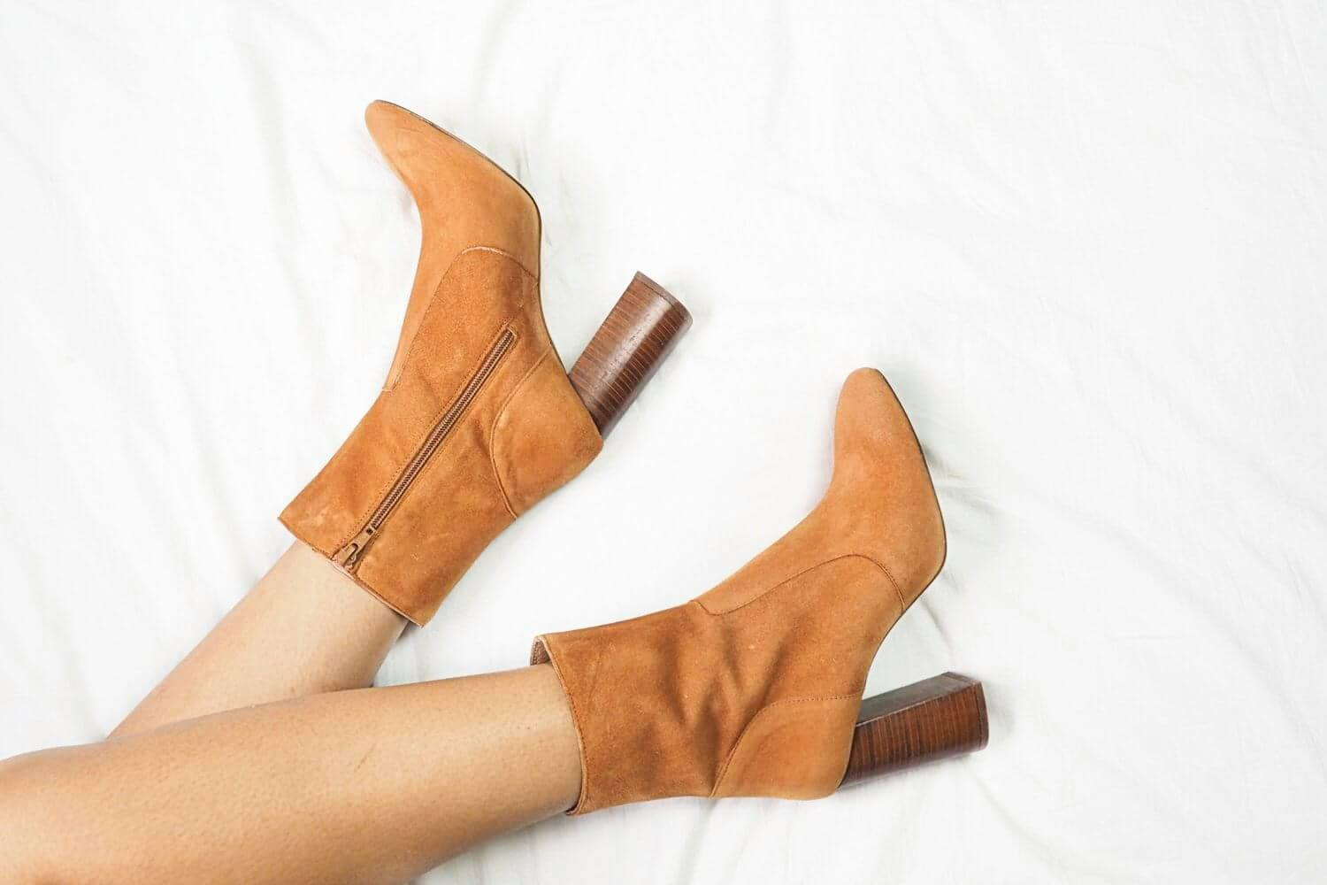 Office Brown Suede Janey Heeled Boots
