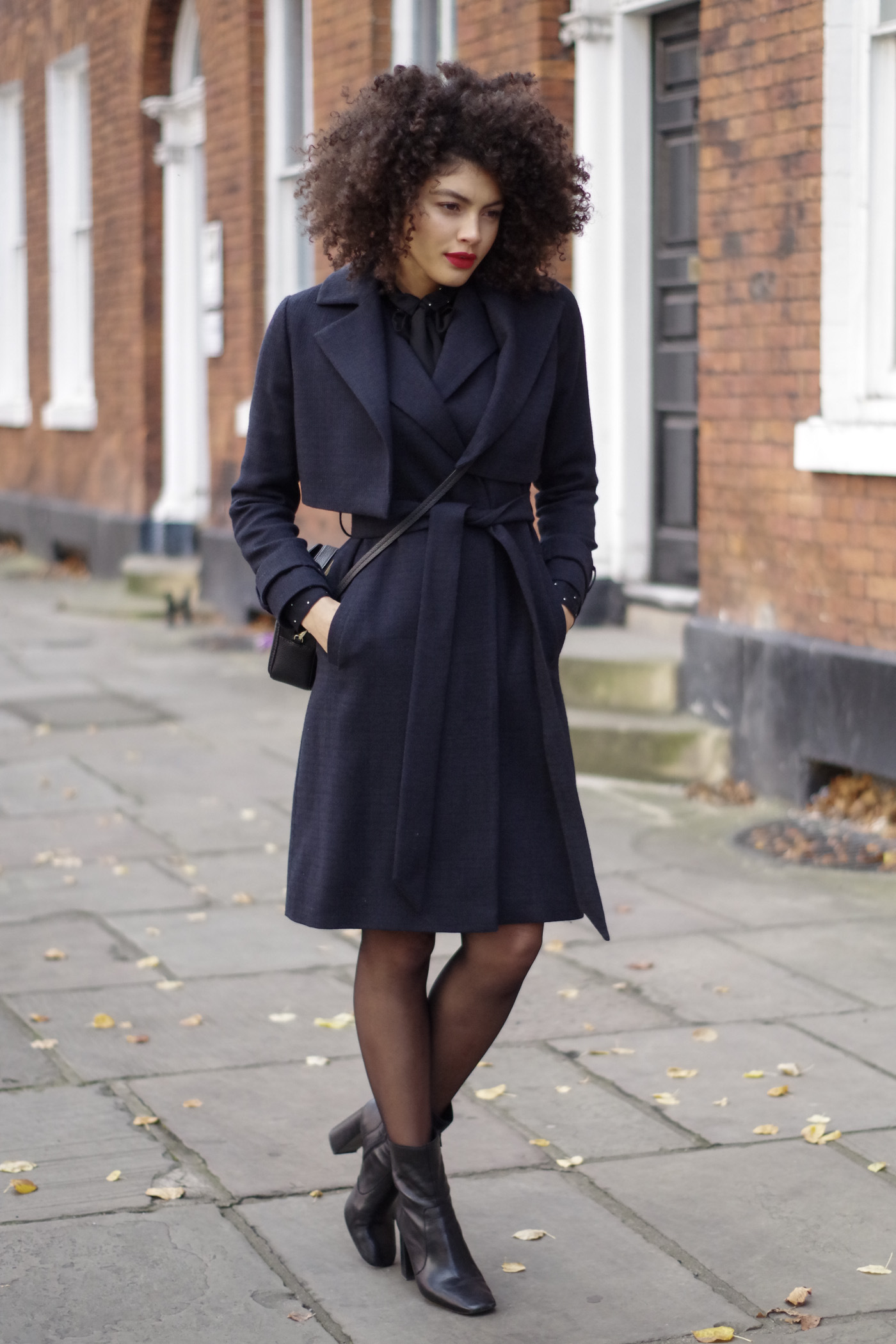 mint by mint velvet navy coat