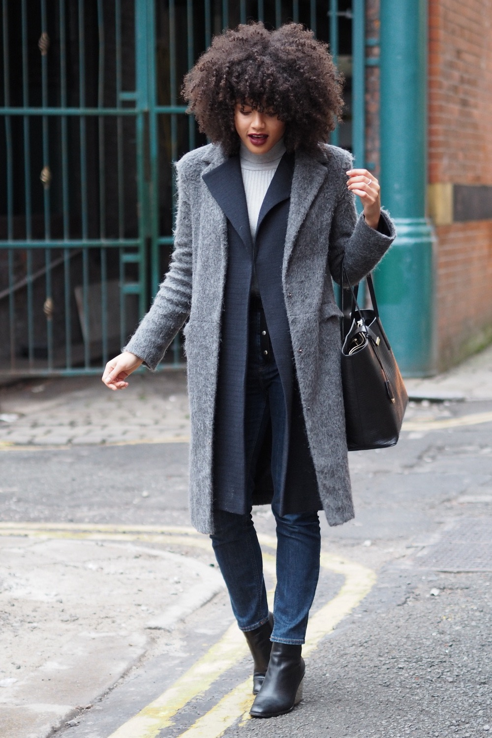 autumn winter layering outfit