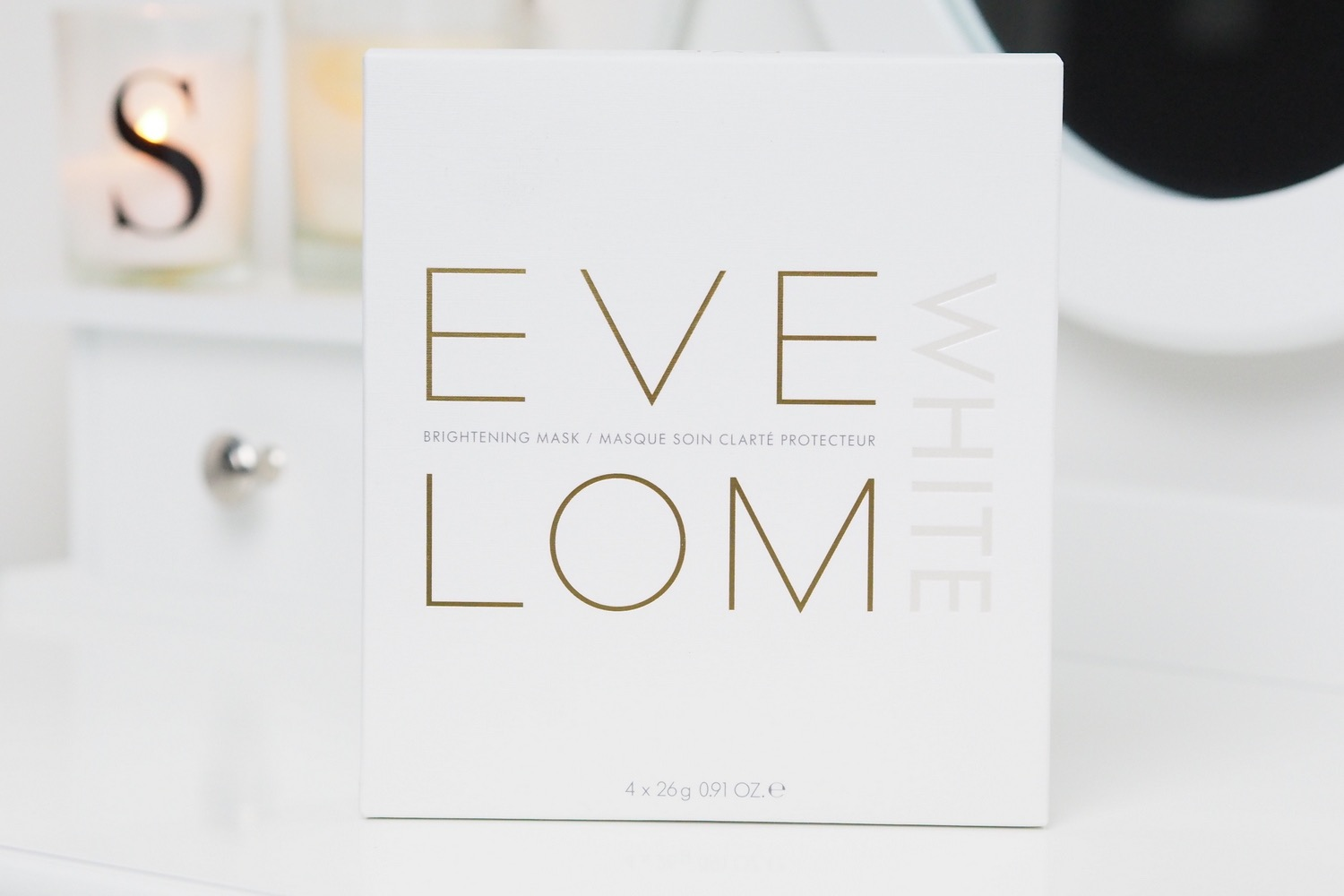 eve lom white brightening masks review