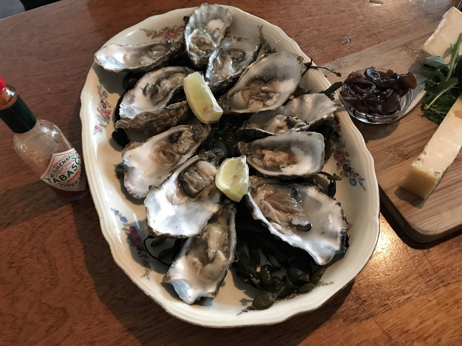 Oysters at Calypso Eindhoven