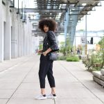 Style Blogger all black Spring Outfit