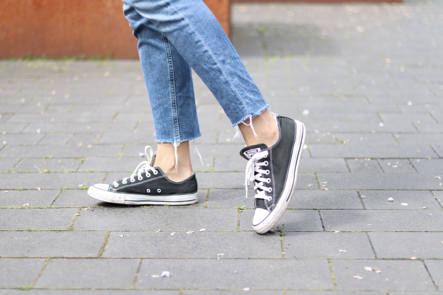 Womens Black Converse Styling Outfit