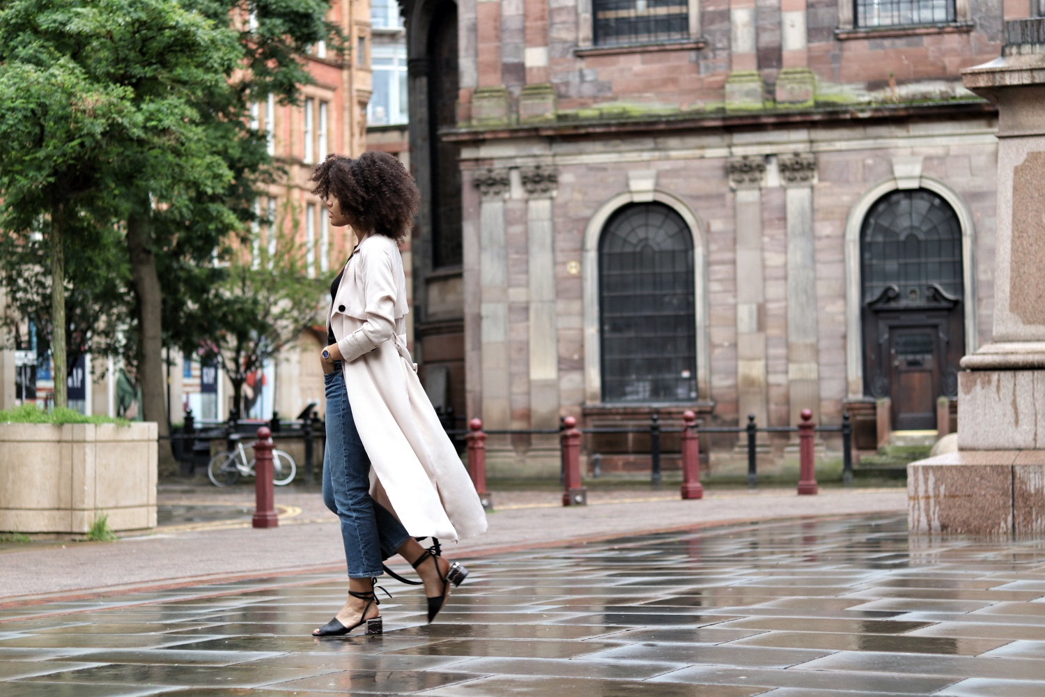 How to wear a satin trench coat womens