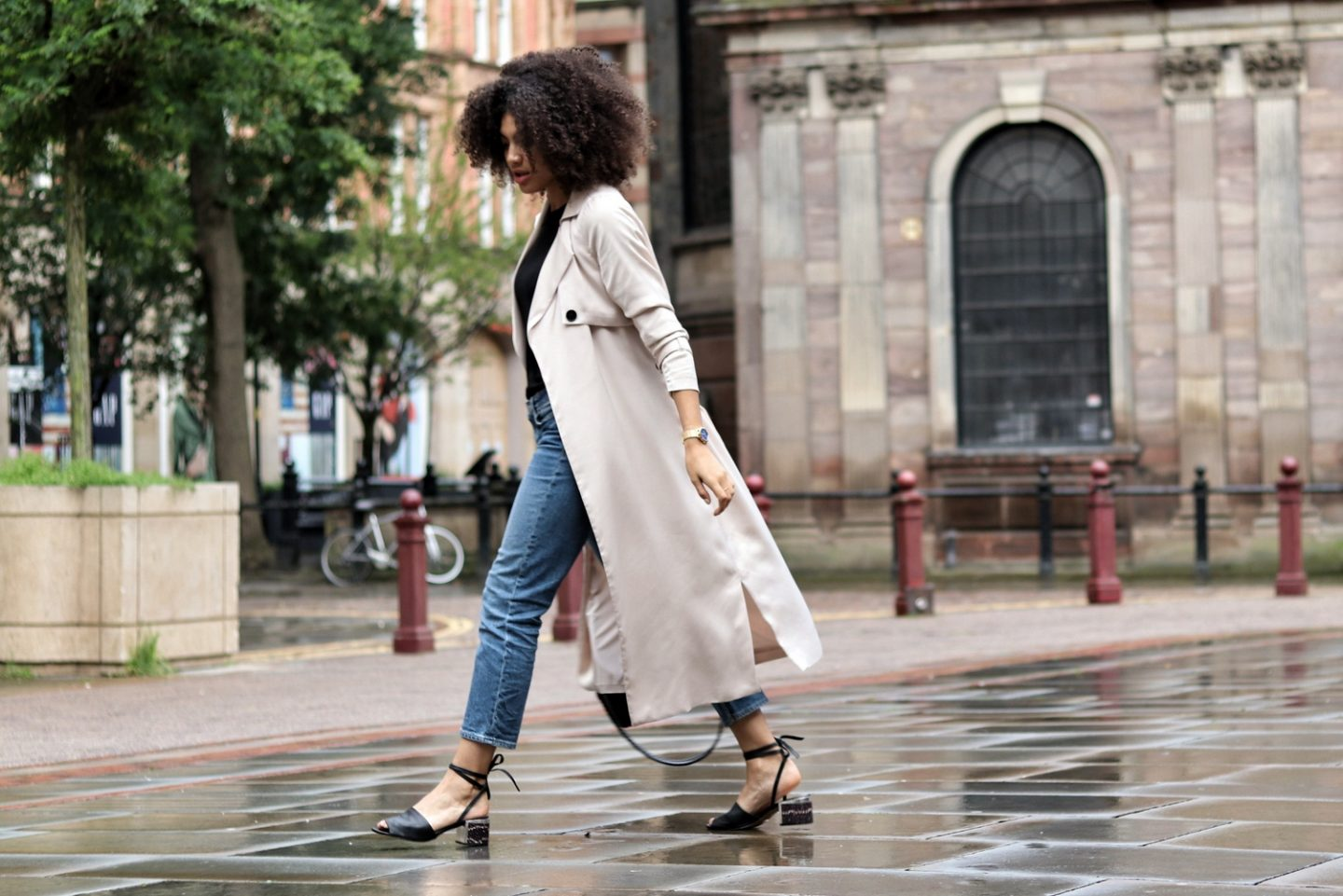 5 Things…And A Transitional Trench Coat