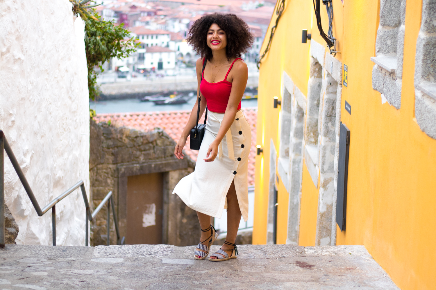 Samio Style Blogger Porto Casual Summer Outfit