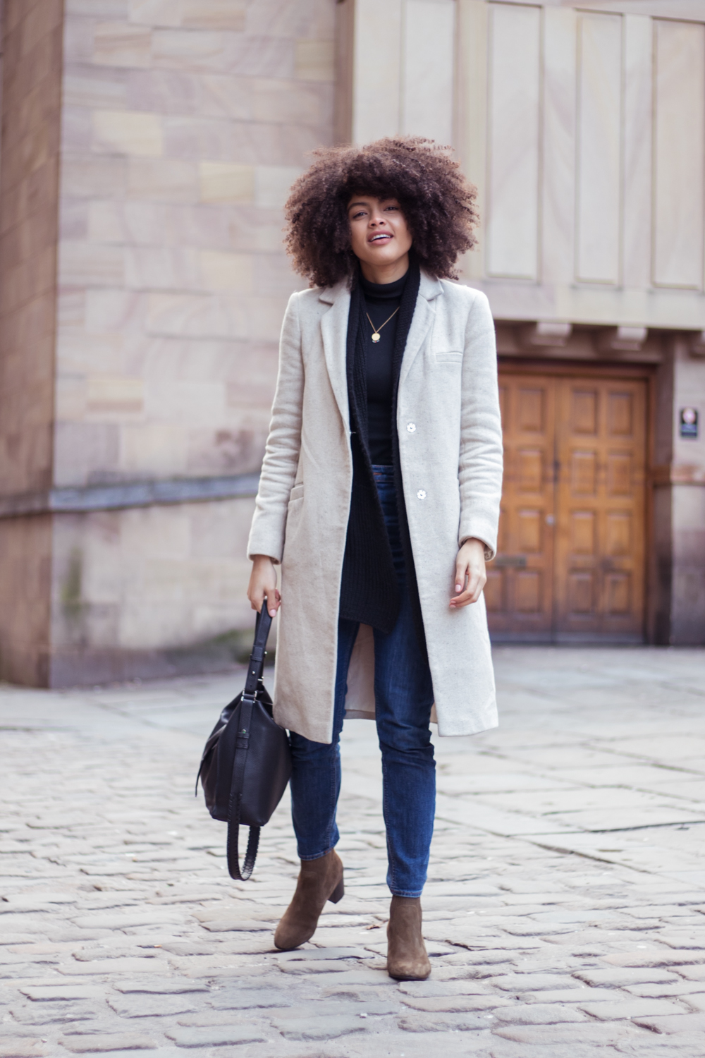 minimal everyday winter outfit