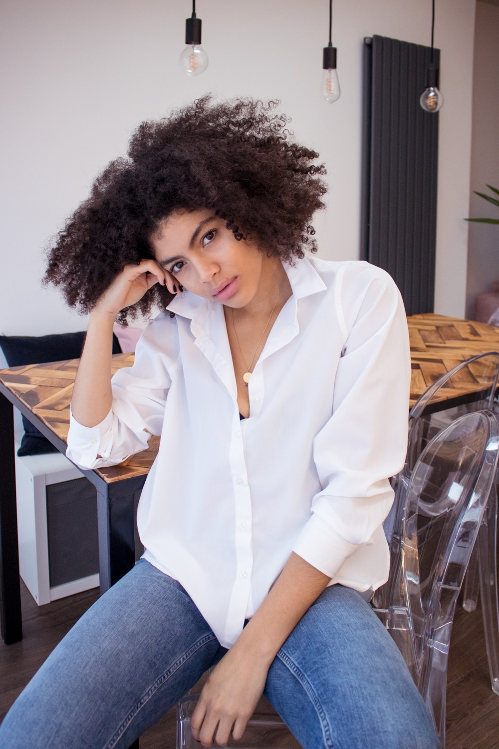 Samio in System of Motion Womens White Shirt