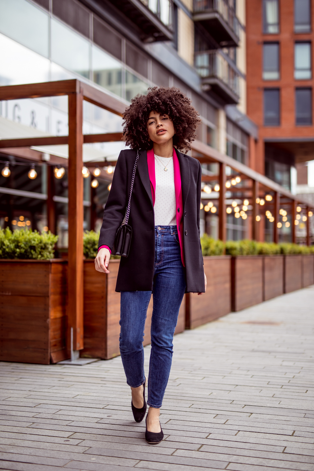 Asos Farleigh Jeans Jigsaw Jacket and French Connection Blazer Outfit