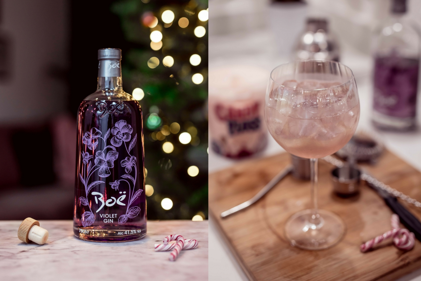 4 Festive Boë Violet Gin Cocktail Recipes