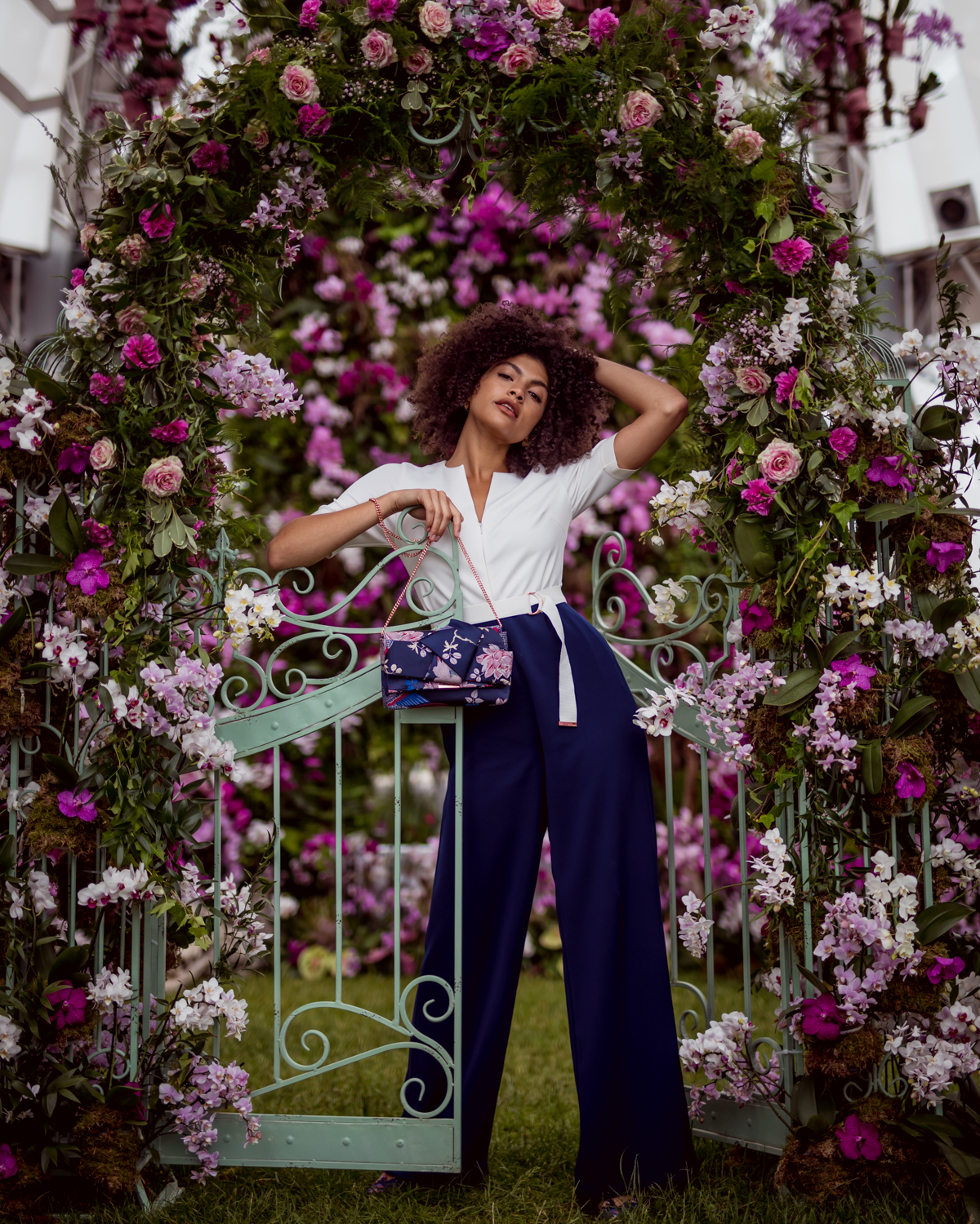 Ted Baker RHS flower show June 2018 Samio Manchester fashion blogger