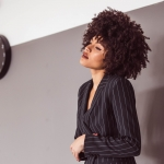 Samio Manchester blogger afro curly hair
