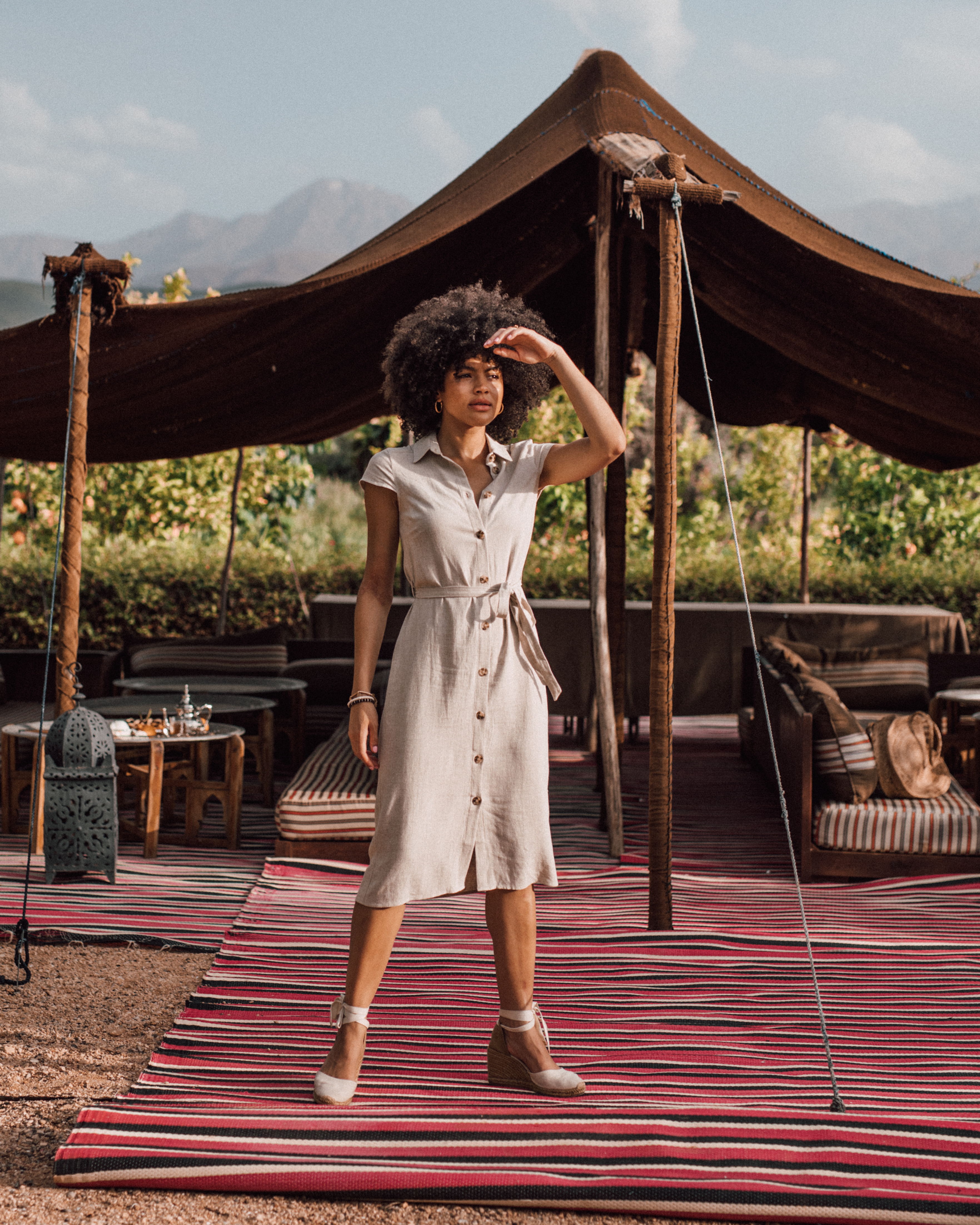 Fashion blogger Manchester in Morocco