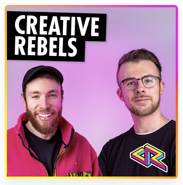 Creative Rebels by David Speed and Adam Brazier Podcast Review