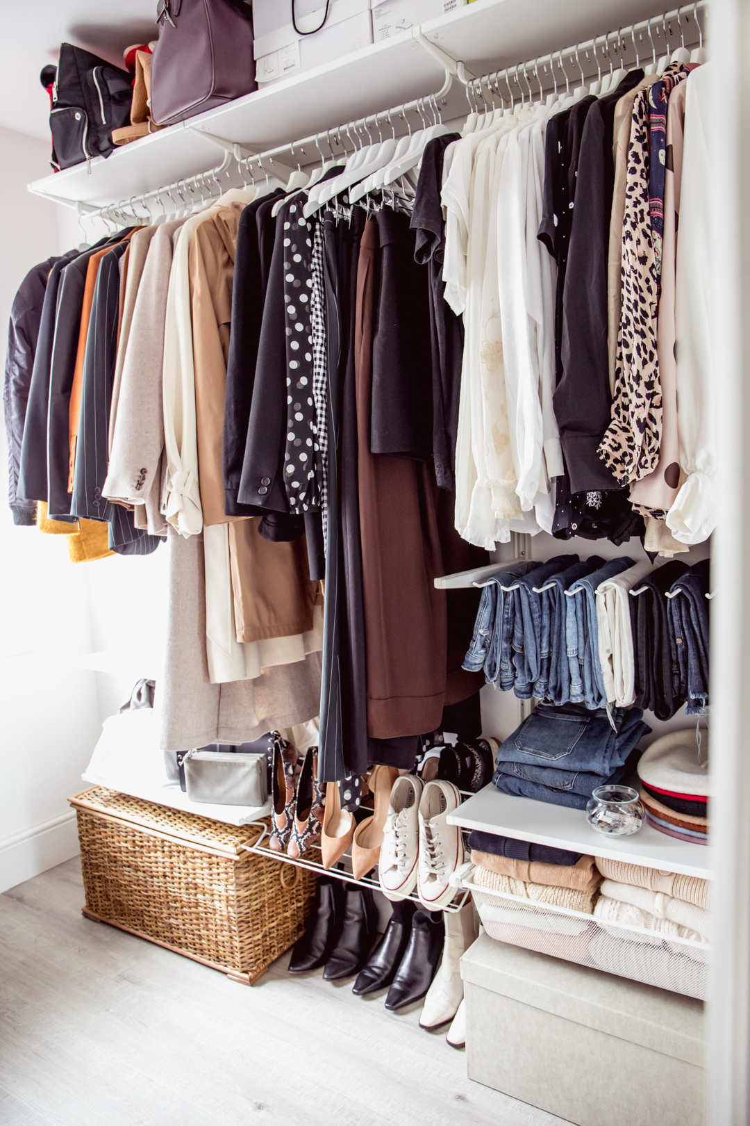 How to Effectively Declutter & Organise Your Wardrobe